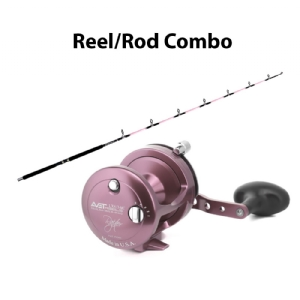 CHAOS KC 20-40 7FT Rod with AVET LX 6.0 G2 Lever Drag Casting Reel Combo