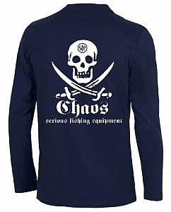 Youth Long Sleeve Pirate T-Shirt Navy