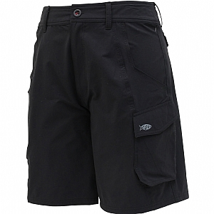 AFTCO Stealth Fishing Shorts - True Black