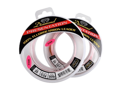 Momoi Diamond Fluorocarbon Leader-100 Yds.