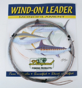 Diamond Fluorocarbon Wind-On 25 Feet