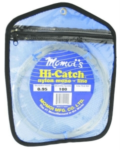 Momoi Hi-Catch Monofilament Leader 100yds