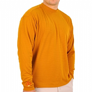 Mens Medium Weight Crew Neck Performance Pumkin