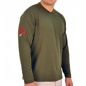 Mens Scuba Stitch Performance Green