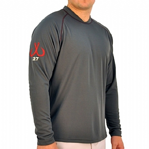 Mens Scuba Stitch Performance Grey
