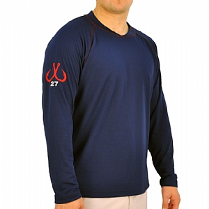 Mens Scuba Stitch Performance Navy
