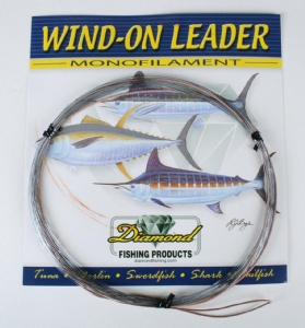 Diamond Monofilament Wind-On X-Hard Leader
