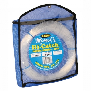 Momoi Hi-Catch Monofilament X-Hard Leader 100yds