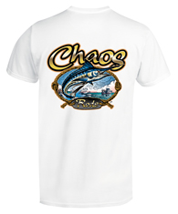 Short Sleeve CHAOS Rods T-Shirt White