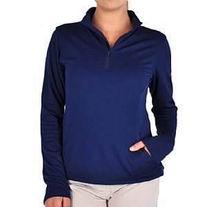 Woman's Performance 1/4 Zip-up Navy