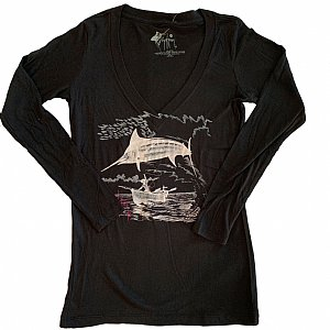 Women's Marlin Go Over Long Sleeve