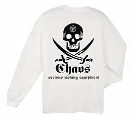 Long Sleeve Pirate T-Shirt White